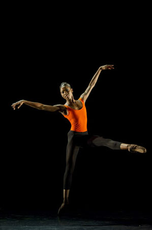 Ballet Black Cira Robinson in Christopher Hampson's 'Sextet'
