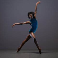 Cira Robinson, Ballet Black Season shoot at Ballet Black's Studio, London on November 14 2017. Photo: Arnaud Stephenson