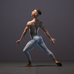 Ebony Thomas, Ballet Black Season shoot at Ballet Black's Studio, London on November 14 2017. Photo: Arnaud Stephenson