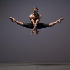 José Alves, Ballet Black Season shoot at Ballet Black's Studio, London on November 14 2017. Photo: Arnaud Stephenson