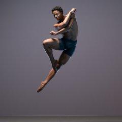 Mthuthuzeli November, Ballet Black Season shoot at Ballet Black's Studio, London on November 14 2017. Photo: Arnaud Stephenson