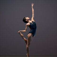 Sayaka Ichikawa, Ballet Black Season shoot at Ballet Black's Studio, London on November 14 2017. Photo: Arnaud Stephenson