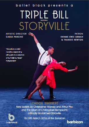 Ballet Black Storyville 2016