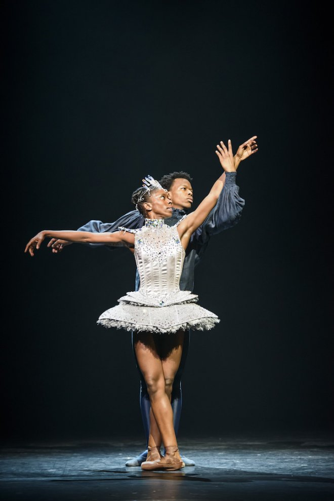 Ballet Black Ballerina in Cristaux by Arthur Pita