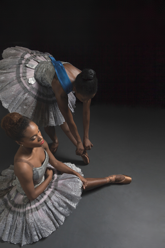Cira Robinson & Marie Astrid Mence Freed Pointe Shoes