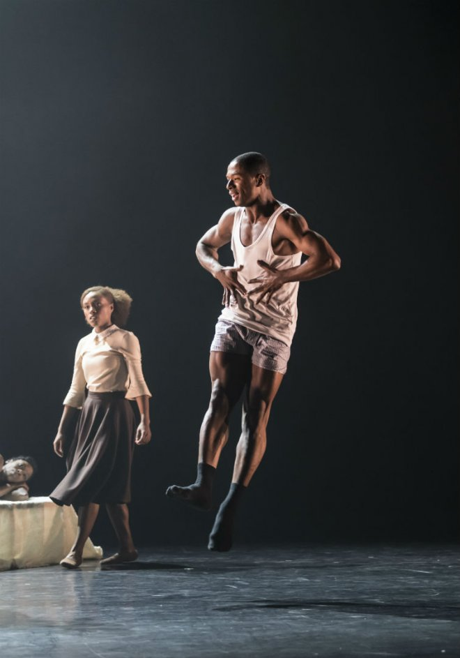 Jose Alves of Ballet Black in Cathy Marston's The Suit